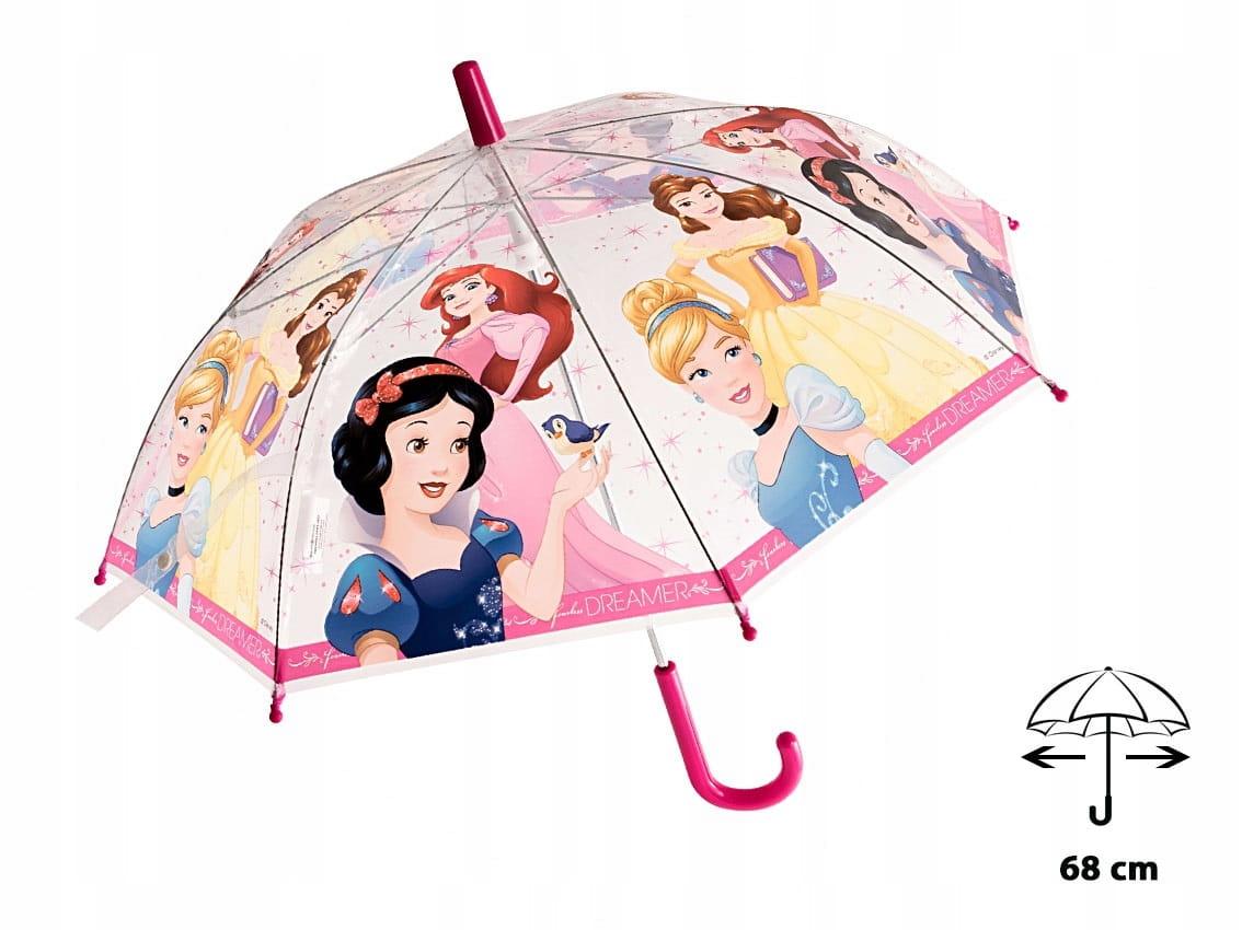 Parasol dla dzieci DISNEY Princess Księżniczk 3478