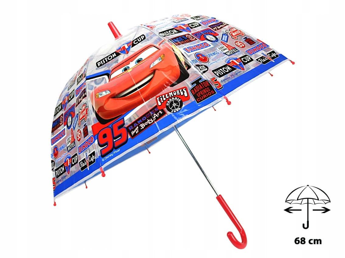Parasol dla dzieci DISNEY Cars Auta 3754