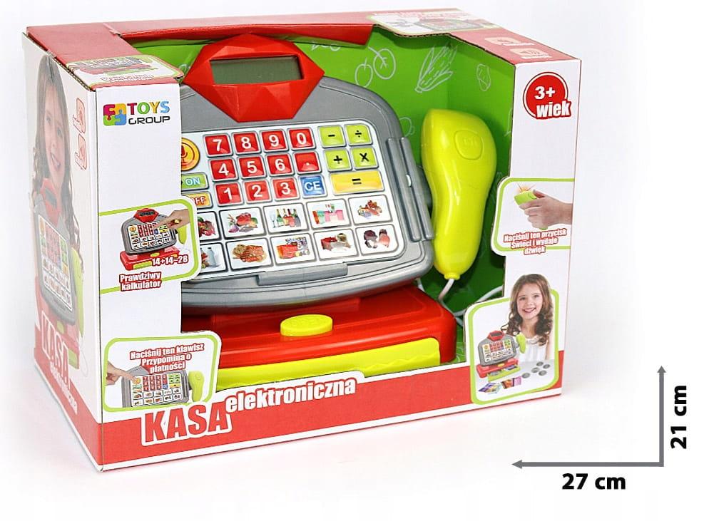 Kasa elektroniczna dla dzieci PL