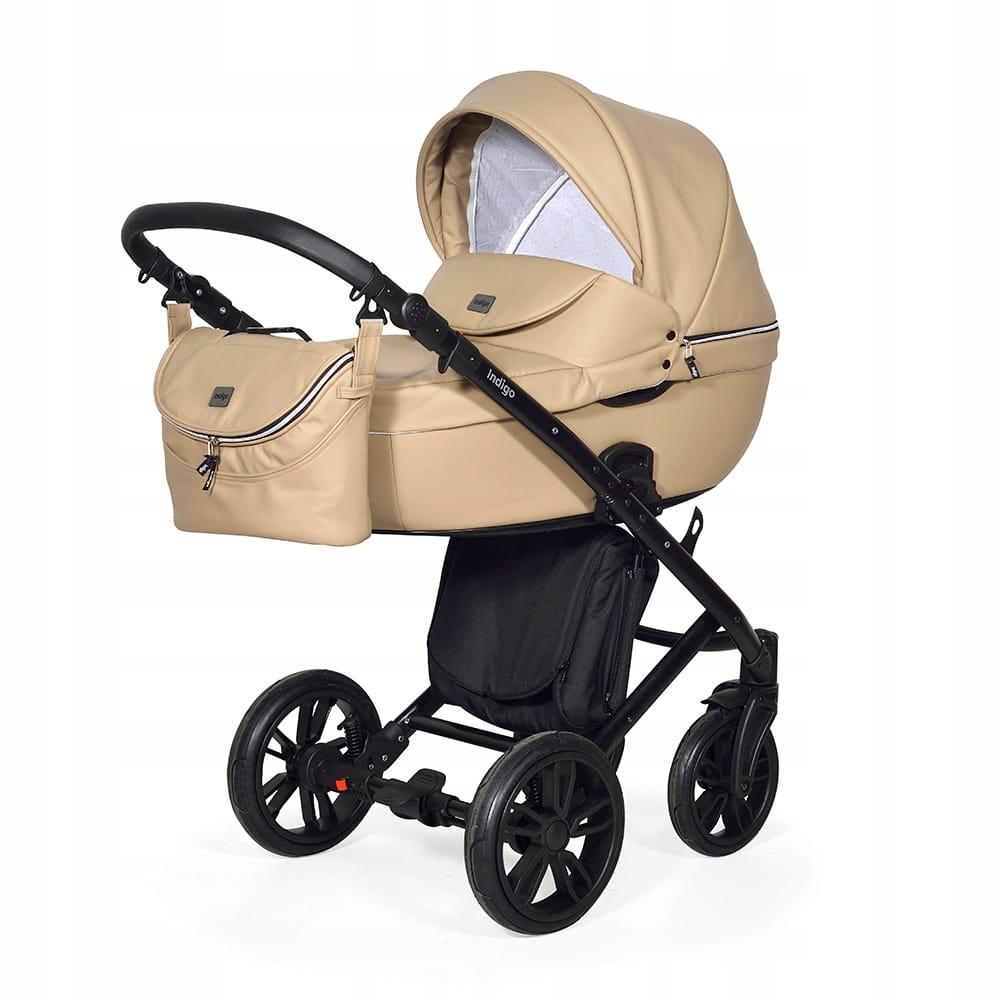Wózek Dziecięcy 3w1 INDIGO Marco Light Beige