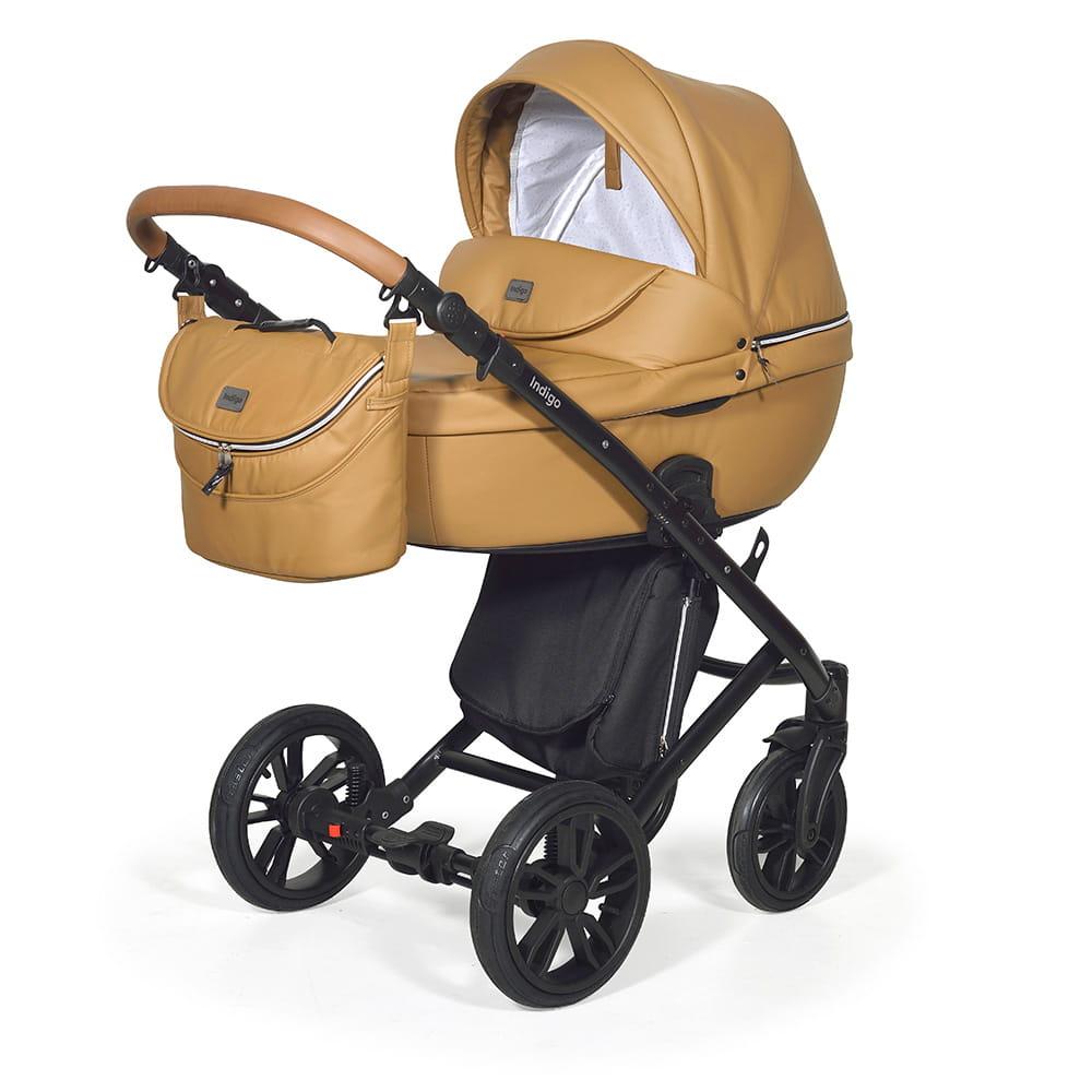 Wózek Dziecięcy 3w1 INDIGO Marco Dark Beige