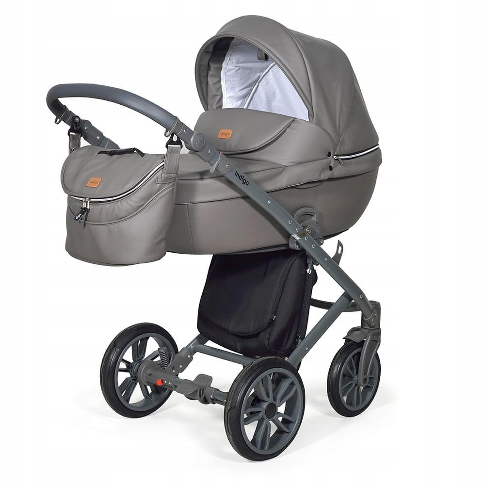 Wózek Dziecięcy 3w1 INDIGO Marco Stone Grey