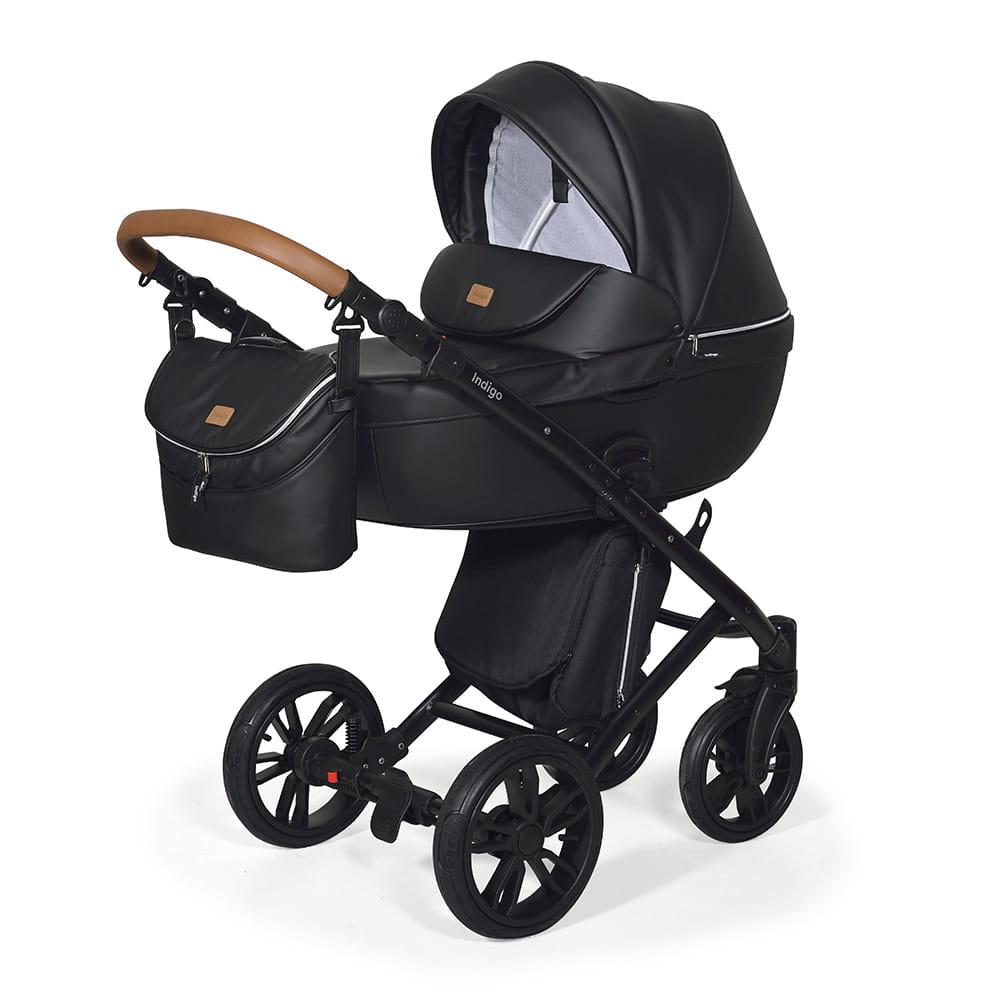 Wózek Dziecięcy 3w1 INDIGO Marco Absolute Black