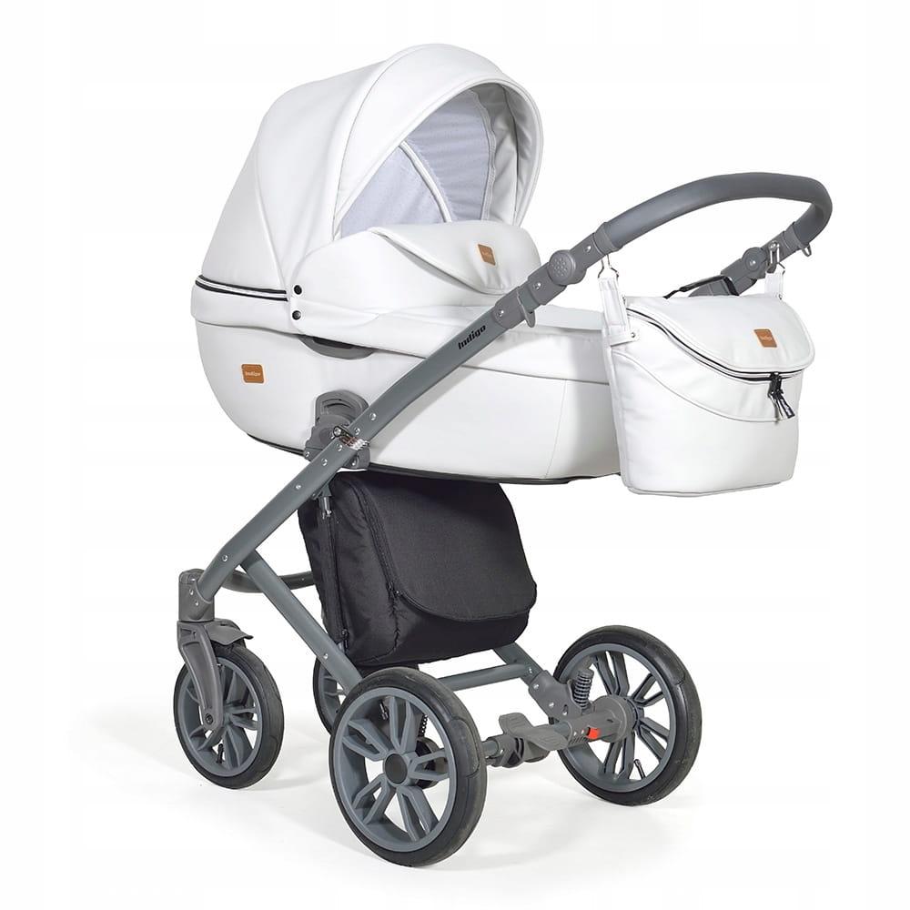 Wózek Dziecięcy 3w1 INDIGO Marco Snow White