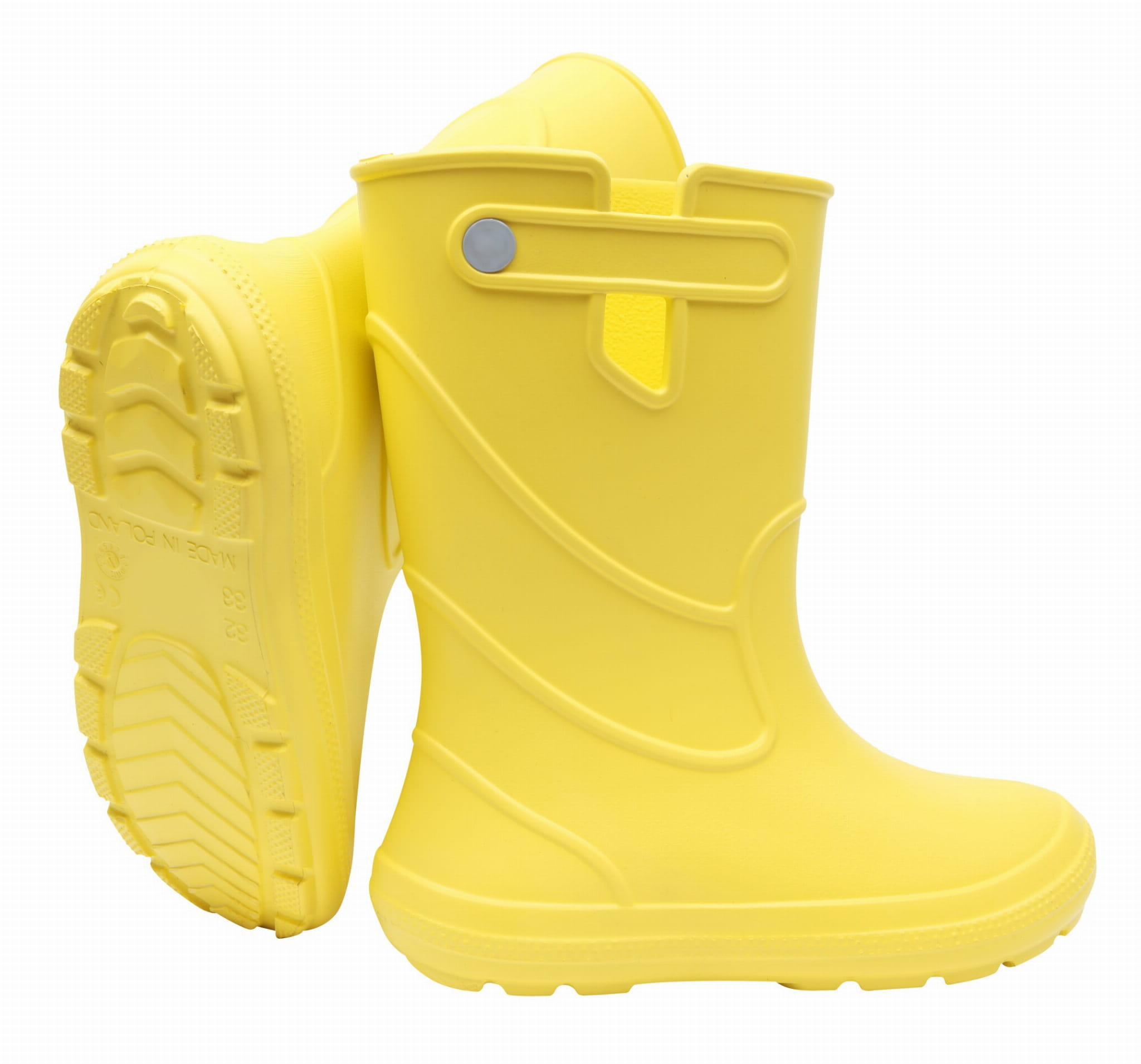 ZETPOL kalosze dziecięce EVA Junior Yellow