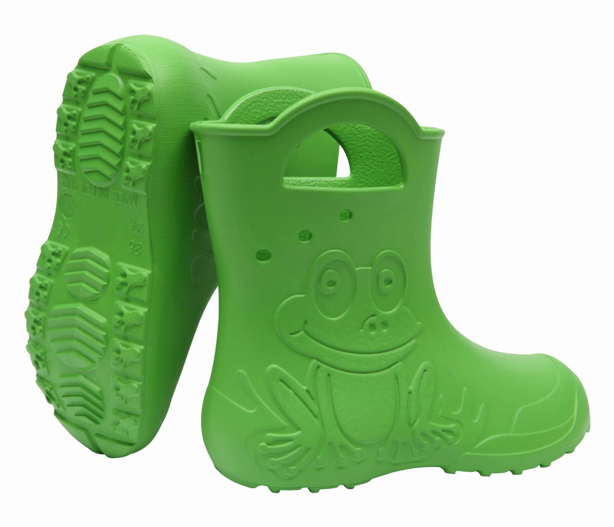 ZETPOL kalosze dziecięce EVA Frog Green