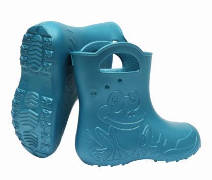ZETPOL kalosze dziecięce EVA Frog Metalic Blue