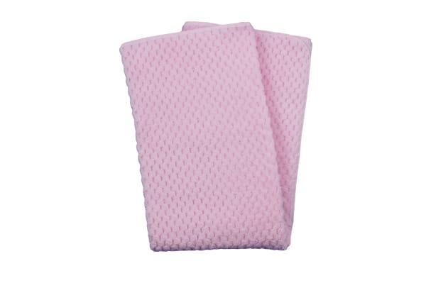 Duetbaby KOCYK SOFT jacquard 80x90 cm Pink